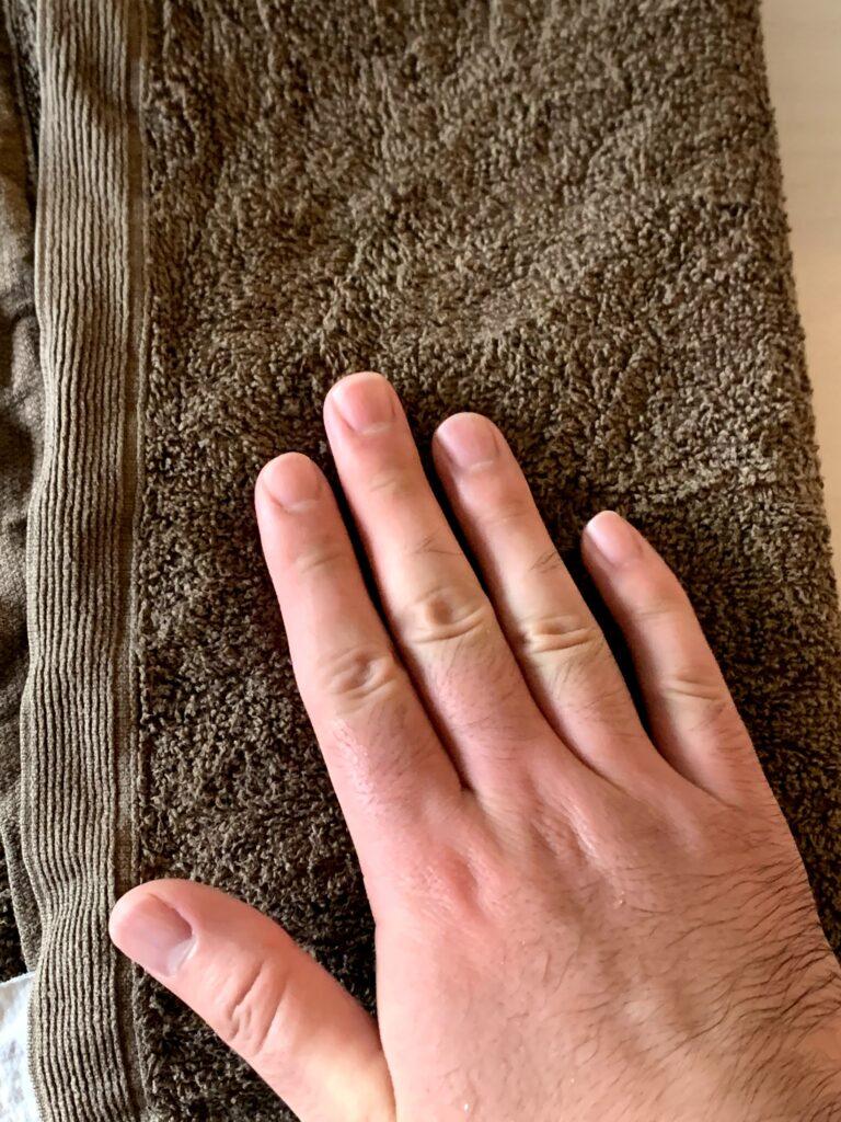 アンダーアーマーマスク手洗い方法5